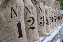 burlap lovliness / projects and decorating inspiration using burlap products