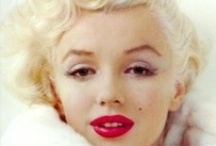 "Marilyn Monroe  / ""Beneath the makeup and behind the smile I am just a girl who wishes for the world."""