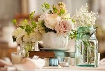 wedding & party decor / decorating inspiration for weddings and parties