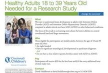 Healthy Adult Research / Find news and research studies (or clinical trials) at Cincinnati Children's for healthy adults. / by Cincinnati Children's Research Studies