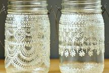 start with a jar ... / projects involving jars and glassware