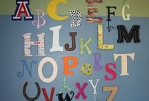 Alphabet / learning the alphabet...start your literacy journey