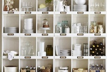 let's get organized / creative ways to organize around the house