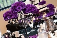 Weddings - Purple, Black and White / by Oh Buttercup Events