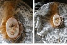 Mis trabajos: Broches Retro / Mi bisuteria artesanal