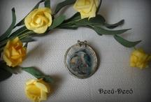 Mis trabajos: Broches Vintage / Mi bisutería artesanal