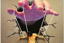 Street Art/Beautiful, but Scary sometimes.. / New trends in the art world.... / by Maryze Foust