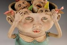 Polymer clay sculpture and more / by MiriamsBeads Polymer clay
