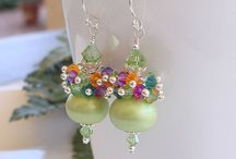 Earrings / by MiriamsBeads Polymer clay