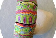 bracelets / by MiriamsBeads Polymer clay