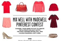 MIX WELL WITH MADEWLL / by Patti Williams