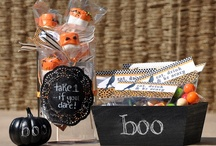 Halloween crafts and decor / spooky projects and decorations for Halloween decorating and events