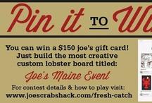 Joe's Maine event / by Patti Williams