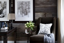 cottage in the woods and by the lake / cottage decorating ideas I like