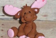 animals / by MiriamsBeads Polymer clay