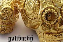 alternative galibardy.com jewellery / alternative jewellery design www.galibardy.com luxury sugar skulls alt urban gothic and healing crystal rings