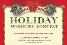 Crabtree &Evelyn-Holiday Wishlist Contest #SeasonalSpectacular / #SeasonalSpectacular