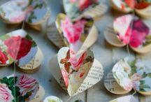 Валентинки, веночки, рамочки