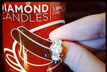 Diamond Candle Rings / by Jo-Ann Brothers