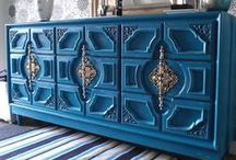 Painted Furniture / Up-cycled, repainted furniture / by The Paint Diva
