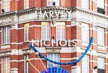 Archive / A look back through the archive of old Harvey Nichols editorial campaigns and logos