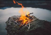 C A M P F I R E / We could sit by the campfire all day long... it is so calming and relaxing...