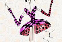 adoro um tutu / my illustrations