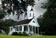 Church! / A simple, country church = beautiful! / by Rachel Christie