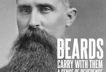 husband + beard  / .i love you so and therefore i know you so. / by Manda Murray