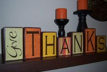 Thanksgiving! / Give thanks! / by Rachel Christie