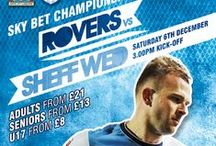 Matchday ads / Blackburn Rovers Matchday ticketing  / by Blackburn Rovers
