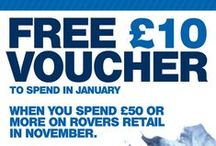 Retail offers / Official Blackburn Rovers merchandise / by Blackburn Rovers