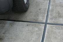 Concrete & Masonry Cleaners - Driveways | Garage Floor | Patios  / Cleaning concrete, stripping paint or removing floor adhesives is usually a hard and tedious job. Particularly, when using store-bought products. Why not use the latest technology to save on labor and make it safer for the user and the environment?  Our state-of-the-art industrial-strength cleaners, paint strippers and adhesive removers for concrete, bricks, masonry and other surfaces make the job much easier and safer.