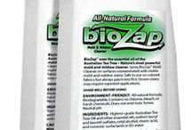 BioZap™ Mold & Mildew Cleaner | Air Purifier | All-Natural & Safe / BioZap™ is a natural product made from the essential oil of the Australian Tea Tree. It is completely natural, biodegradable and environment-friendly. BioZap uses premium grade of Australian Tea Tree Oil, which is subject to strict quality criteria of the Australian government and is the only tea tree oil proved effective against molds in Australia.