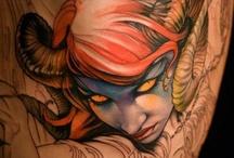 Permanent Ink / Needle work on flesh  / by Kelsey O'Brien