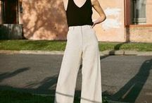 fashion // bottom / fashion trend street style trousers jeans pants skirt inspiration fashionista lookbook
