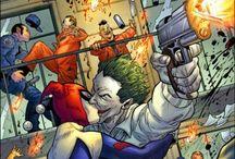 Callous Criminals / Evildoers of DC Universe  / by Kelsey O'Brien