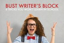 Bust Writer's Block / Keep writer's block at bay with these tips and tricks on writing.  / by Mom Bloggers Club