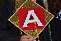 #GradCaps / Can you match the #Alvernia Class of 2015 members to their decorated graduation caps? Full gallery: http://alvernia-university.smugmug.com/CareyManzolillo/2015/Graduation-Caps-May/
