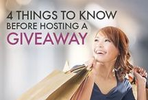 Gaga for Giveaways / Gobs of resources, tips and tricks to help you host the best giveaway possible! / by Mom Bloggers Club