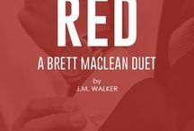 Red (A Brett MacLean Duet) / Book #1 - Reflected by You - Brand new story  Book #2 - Possessed - Possessed by You written in Brett MacLean's POV as a bonus story  Add to your TBR: https://www.goodreads.com/book/show/37706516-red