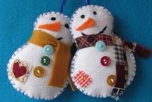 < Snow Folk> / Snowmen, Snow Ladies, Snow Families