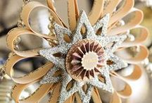 < Ornaments> / Lovely Ornaments to decorate on a tree or hang anywhere or give as gifts.