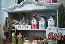 <Birdhouses> / Patterns or Ideas to create birdhouses