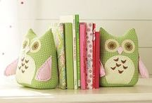 <Owls> / Lovely owl projects for those of us who adore beautiful owls...