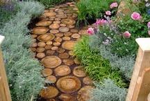 OUTDOORS -- yard, fence, garden, hot tub, landscape ideas / by B & B Mom
