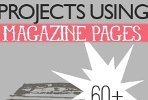 Paper-Arts (Magazines) / Creating with using magazines...