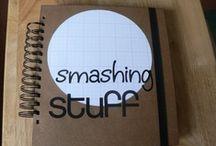 """...Journal-SMASH... / """"Smash"""" scrapbooking"""