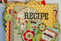 ...Journal-Recipes... / recipe scrapbooks