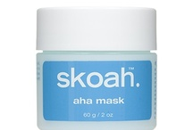 Exfoliators / skoah's natural exfoliators should be used 2-3 times per week for best results. Choose a mask or facial scrub and reveal your skin's inner glow.